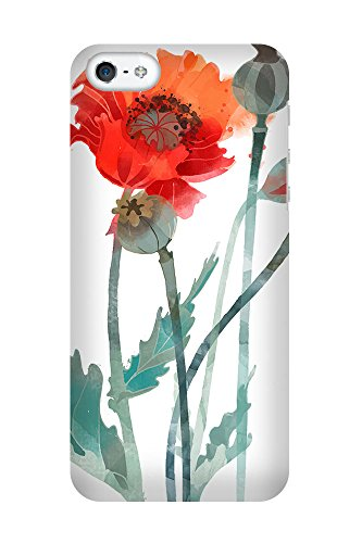 iPhone 4/4S Coque photo - coquelicots