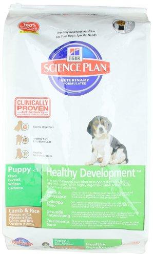Hills Canine Puppy Healthy Development Lamm & Reis 12kg, 1er Pack (1 x 12 kg Packung)