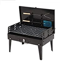 DSHBB Grill Grill Regale, Grill-Grill, Tragbare Holzkohle-Grill, Outdoor-Strand Camping Outdoor Garten Grill