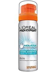 L'Oréal Men Expert Rasiergel Hydra Sensitiv / Gel zum Rasieren für empfindliche Haut / schützt vor Hautirritationen (dermatologisch getestet, ohne Alkohol, mit Aloe Vera) 1 x 200 ml
