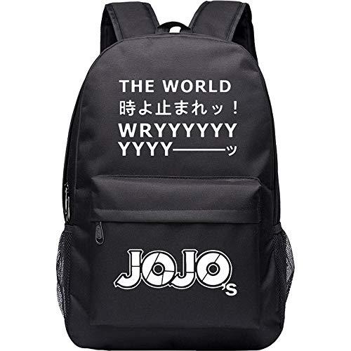 Muster Kostüm Joseph - JoJo's Bizarre Adventure Starry Sky Lightning Plaid Print Rucksack Daypack Laptop Tasche Umhängetasche College Bag Book Bag Schultasche