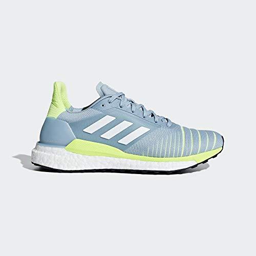 Adidas Solar Glide W - Zapatillas de Deporte para Mujer, Multicolor Gricen/Ftwbla/Amalre 40 EU