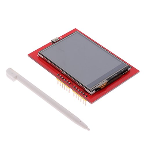 Homyl 2,4 Zoll TFT LCD-Bildschirm Display Modul Touch Panel TFT LCD Modul für Arduino Auflösung: 240 x 320 -Rotfarbig Tft-lcd-panel