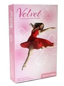 Velvet Female Condom - 3 Condoms (Pack of 3)