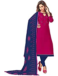 daacb89301 Indian Pakistani Designer Ethnic Cotton Anarkali Salwar Kameez Un-Sttiched  A1632