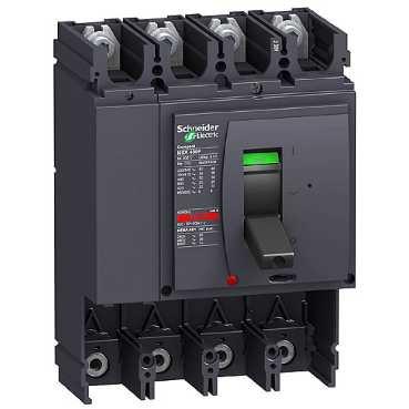 Schneider lv4350264P vacíos nsx400F/N/H sin Disparador Compacto Potencia-Interruptor
