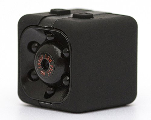 Galleria fotografica Spy Cam Mini Hidden Camera Telecamera Spia Nascosta 1080P HD Rilevamento di Movimento Portatile Videocamera di Sorveglianza Video Visione Notturna IR Registrazione di Movimento per la Sorveglianza di Sicurezza Domestica