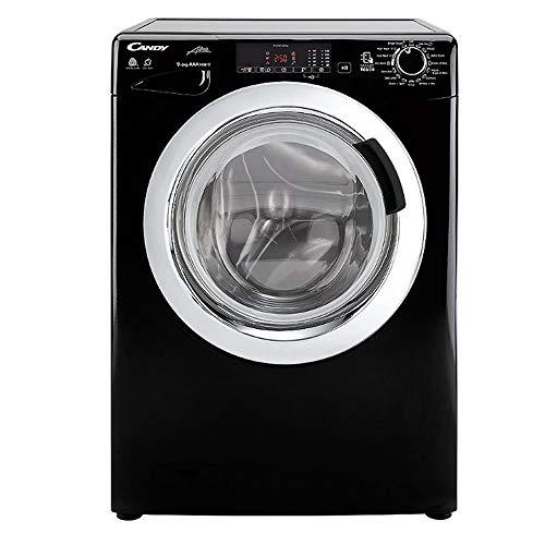 Candy GVSW496DCAB-80 9kg+6kg 1400 Spin Washer Dryer in Black