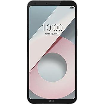 LG Q6 Smartphone Dual SIM FullVision 5.5'', Batteria da 3000 mAh, Fotocamera 13 MP + 5 MP Grandangolare, Octa-Core 1.4 GHz, Memoria 32 GB, 3 GB RAM, Android 7.1.1 Nougat, Mystic White [Italia]