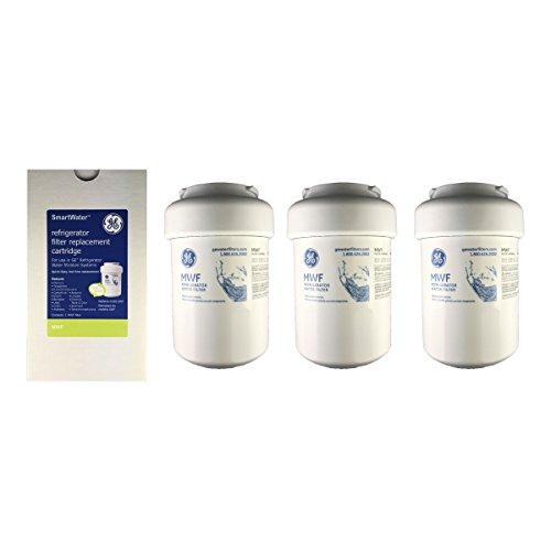 GE MWF Kühlschrank Wasser Filter Pack von 3 (Ge Kühlschrank Filter)