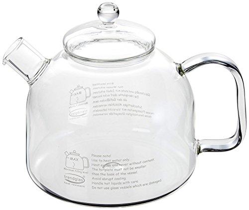 Trendglas Jena Innovativer Wasserkocher / Wasserbereiter, aus Borosilikat-Glas (1,75 Liter) Wasserkocher Für Den Herd