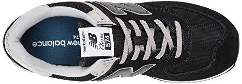 New Balance Ml574v2, Baskets Homme, Rouge Noir