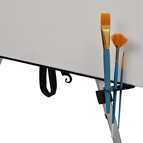 Daler Rowney - 111 tlg. komplett Malset & Zeichenset XXL mit Feld-Staffelei, Farben, Zeichenstifte, Leinwand - 7