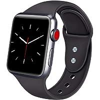 ATUP Armband Kompatibel für Apple Watch Armband 38mm 42mm 40mm 44mm, Weich Silik on Ersatz Armband für iWatch Apple Watch Series 4, Series 3, Series 2, Series 1