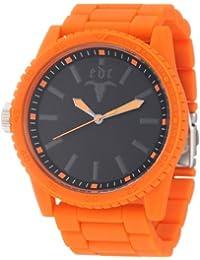 EDC Herren-Armbanduhr Analog Quarz Plastik EE100291009