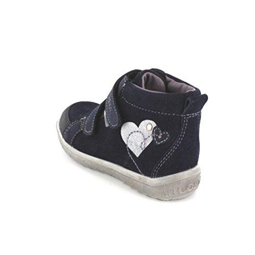 Ricosta Lessi Mädchen Hohe Sneakers Blau
