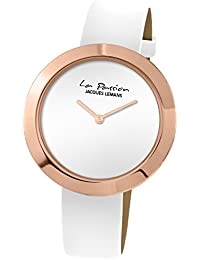 Jacques Lemans Damen-Armbanduhr La Passion Analog Quarz Leder LP-113C