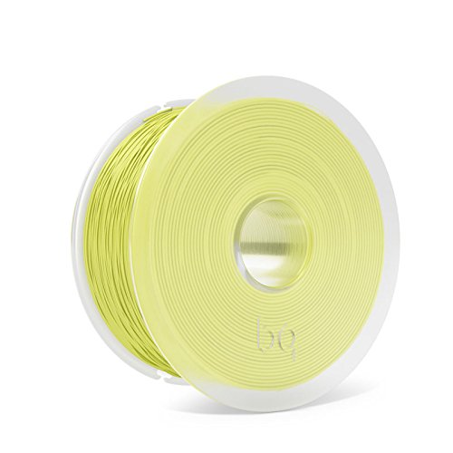 BQ F000163 - Filamento PLA de diámetro 1.75 mm, 1 kg, Color Sulphur Yellow