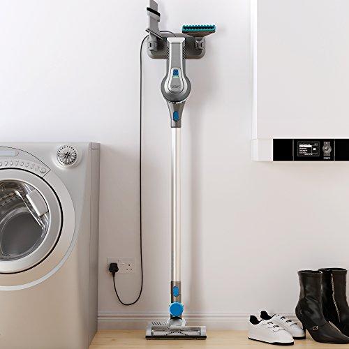 413iWkX6ZRL. SS500  - Vax Cordless SlimVac Vacuum Cleaner, 0.6 Litre, 18 V, 130 W, Silver/Blue