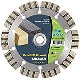 Sidamo - Disque diamant PRO MD GRANIT D.125 x M14 x 12 x ép. 2 mm - Matériaux Durs - 11101049