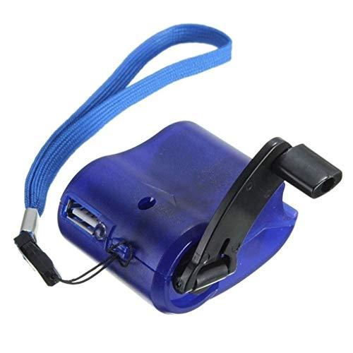 Minzhi Portable USB-Kurbel-Telefon Notfall-Ladegerät MP4 Handy Außen Handbuch Stromversorgung (Kurbel-handy-ladegerät)