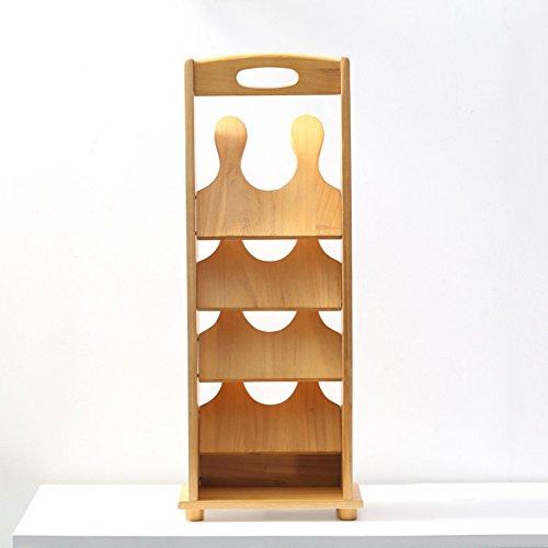 QFFL Crémaillère créative multicouche en bois solide / support de stockage de pantoufles de salle de bains de salon / chambre à coucher multifonctionnelle moderne de chaussure de Cabinet 30 * 16.5 * 75cm Range-chaussures