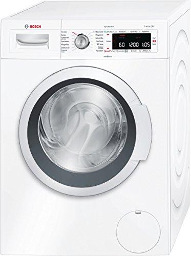 Bosch WAW28550 Serie 8 Waschmaschine FL / A+++ / 137 kWh/Jahr / 1379 UpM / 8 kg / Flecken-Automatik mit 4 Flecken / weiß