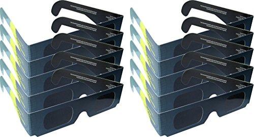 Preisvergleich Produktbild 10 Sonnensichtbrillen - Sonnenfinsternisbrillen