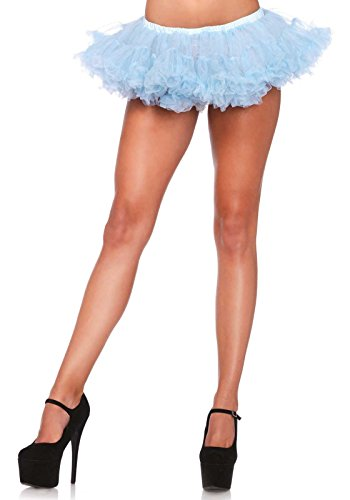 ffy Chiffon Mini Petticoat, Einheitsgröße, hellblau (Sport Figuren Halloween Kostüme)