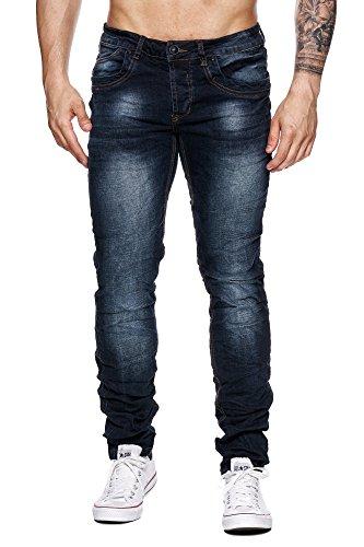megastyl-herren-hose-light-washed-jeans-dunkel-blau-schwarz-slim-fit-skinny-5-pocket-stretch-denim-h