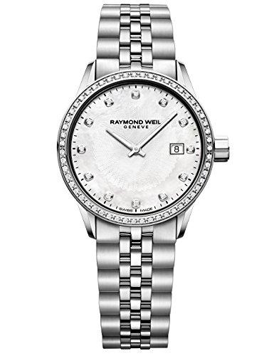 Raymond Weil 'Freelancer orologio al quarzo acciaio INOX casual, donna,...