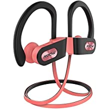 Auriculares Bluetooth Deportivos, Mpow【Impermeables IPX7】Auriculares Bluetooth 4.1 In-ear Cascos Inalámbricos , Auricular Inalámbrico Running Deporte ...