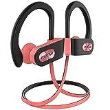 Mpow Flame Bluetooth Kopfhörer, IPX7 Wasserdicht Sportkopfhörer Joggen Bluetooth 4.1, 7-10 Stunden Spielzeit/Stereo Bass/CVC 6.0 Noise Cancelling, Sport Kopfhörer mit Mikrofon für iPhone Android usw