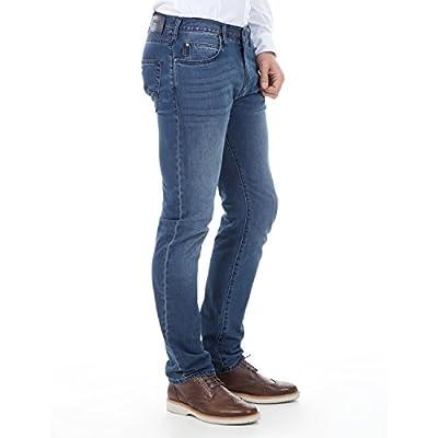 Armani Jeans Men's J45 Slim-Fit Midwash Blue Denim 3Y6J45 6DBRZ