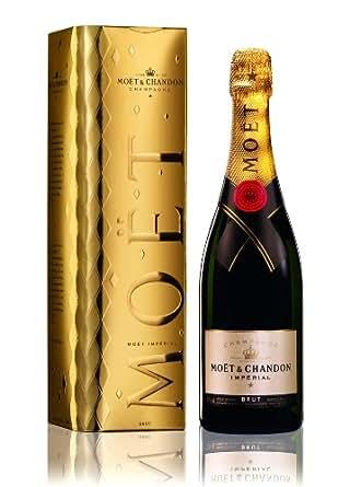 Moët & Chandon Impérial in festlicher, goldener Geschenkpackung, 1 Flasche (1 x 750 ml)