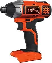 Black+Decker Cordless Impact Driver, 18V, 155 Nm, Battery not Included - BDCIM18N-XJ, 2 Year Warranty