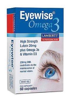 Lamberts Eyewise Omega 3-60 Cápsulas