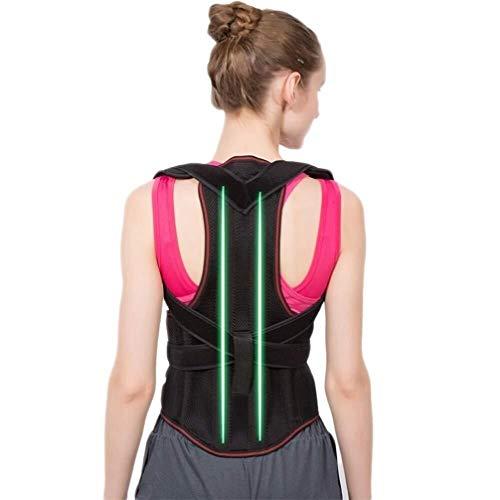 Electroestimulador abdominal Corrector De Postura Ajustable For El Hombro Cinturón De Corrección De...