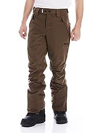 Bench Deck B – Pantalones de esquí para hombre, otoño/invierno, hombre, color marrón oscuro, tamaño large