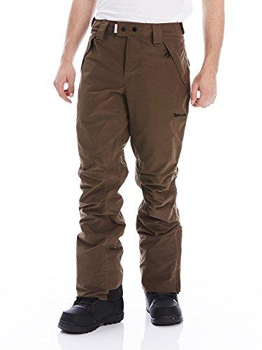 Bench Deck B–Pantalones de esquí para hombre, otoño/invierno, hombre, caqui, tamaño large