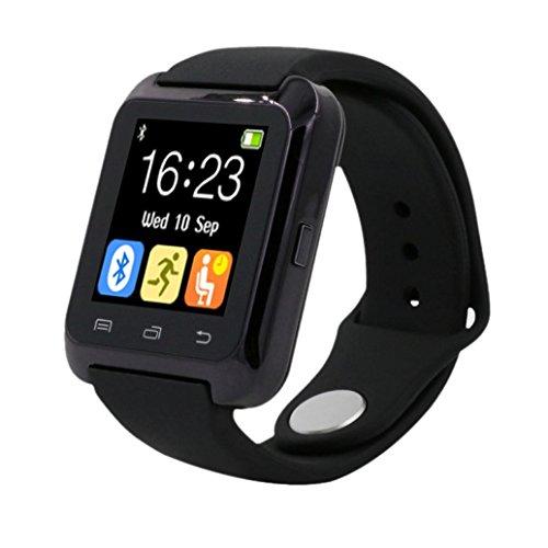 Galleria fotografica Sannysis® Bluetooth intelligente Orologio Contapassi sano per iPhone LG Samsung Phone (black)