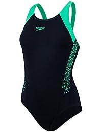 Speedo Women Boom Splice Muscleback Swimsuit