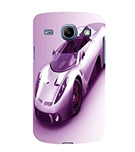 printtech Superfast car Back Case Cover for Samsung Galaxy Core i8262::Samsung Galaxy Core i8260