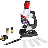 Microscope Enfant avec éclat Jouet Microscope 100X 400X Pour et 1200X les Enfants étudiants Précoce