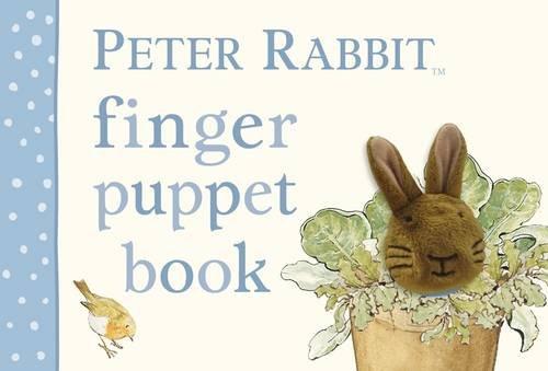 Peter Rabbit finger puppet book.