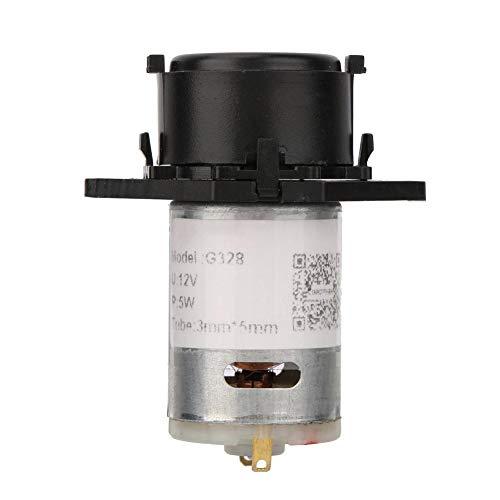 Dosierpumpe 12 V 3X5mm Dosierpumpe DIY Schlauchkopf Für Aquarium Labor Chemische Analyse(schwarz)