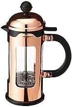 Bodum, Caffettiera con filtro per 3 persone, in vetro borosilicato e rame, capacità 0,35 litri, Marrone (Copper)