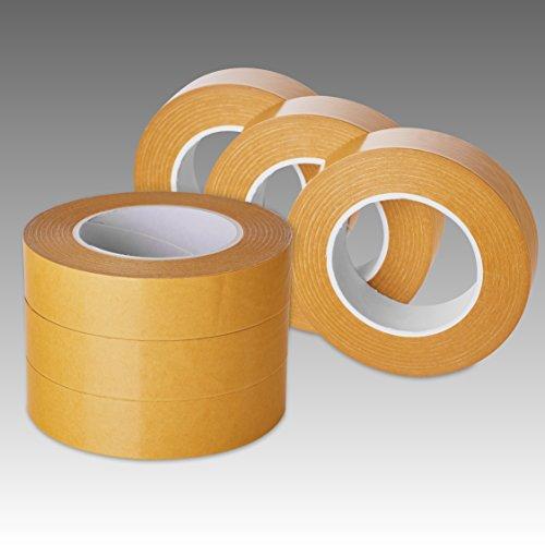 1 Rolle à 5 m doppelseitiges Folienklebeband 1050 mm transparent Klebeband mit unterschiedlich stark haftenden Seiten 223P01SL-105005