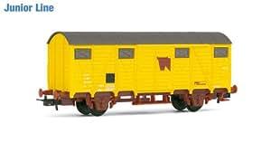 Jouef - HJ6050 - Modélisme - Wagon Couvert pour le Transport de Bétail