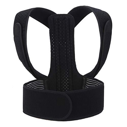 Vital Spine Haltungskorrektur - Professioneller Geradehalter für eine aufrechte Haltung - Rückengurt in Verstellbarer Einheitsgröße - Schultergurt perfekt geeignet für Damen und Herren Gr. M